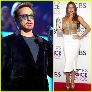 VIDEO: Robert Downey Jr. & Sofia Vergara Win Big at People's Choice Awards 2017