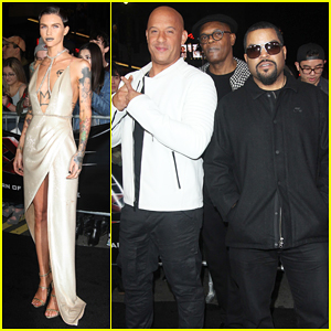 Ruby Rose Experiences 'Epic Moment' At Star-Studded 'xXx: Return of Xander Cage' Premiere!