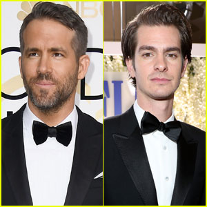 VIDEO: Ryan Reynolds & Andrew Garfield Kissed When Ryan Gosling Won at the Golden Globes!