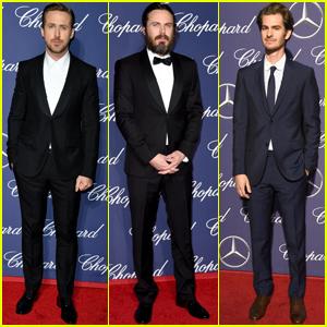 Ryan Gosling Attends Palm Springs Film Fest Sans Sick Emma Stone