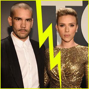 Scarlett Johansson & Romain Dauriac Split After 2 Years of Marriage