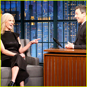 VIDEO: Seth Meyers Grills Kellyanne Conway in an Interview About Trump