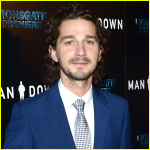 VIDEO: Shia LaBeouf Arrested at Protest Live Stream Site