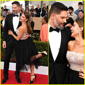Sofia Vergara & Joe Manganiello Look So in Love at SAG Awards 2017
