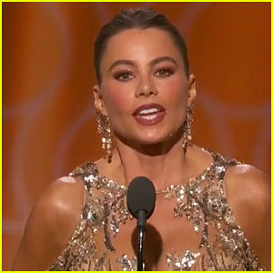 VIDEO: Sofia Vergara Keeps Saying 'Anal' Instead of 'Annual' at Golden Globes 2017