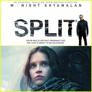 'Split' Tops Weekend Box Office, 'Rogue One' Passes $1 Billion Mark Globally