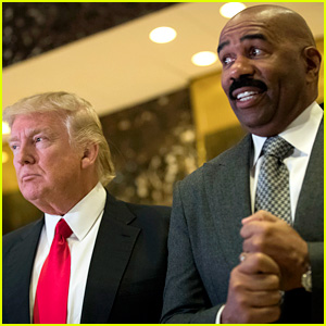 Steve Harvey Meets with Donald Trump, Has Only Words of Praise for the President-Elect