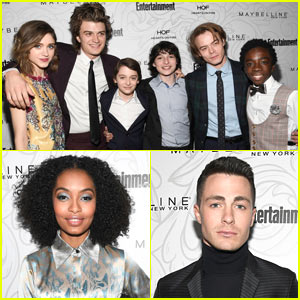 The 'Stranger Things' Cast Attends the 'EW' SAG Party!