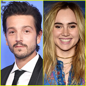 Rogue One's Diego Luna & Model Suki Waterhouse Kiss in New Photos