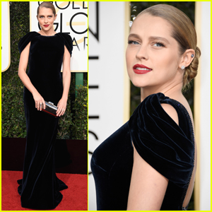 Teresa Palmer Stuns on the Red Carpet at Golden Globes 2017