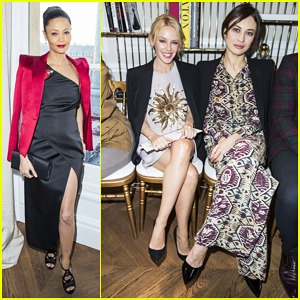 Thandie Newton, Kylie Minogue & Olga Kurylenko Kick Off Paris Couture Week!