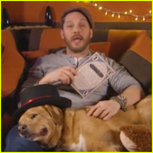 Tom Hardy Read Bedtime Stories on TV for New Year's Eve!