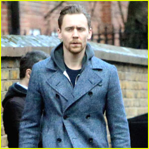 Tom Hiddleston Shows Off His Cool Style at Lunch