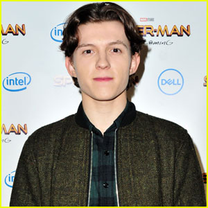 Tom Holland Shows Off New Spidey Suit Features!