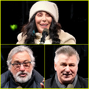 'We Stand United' Rally in NYC Draws Star Power from Cher, Robert De Niro, Alec Baldwin & More!