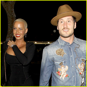 Val Chmerkovskiy Defends Dating Girlfriend Amber Rose