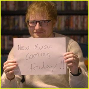 VIDEO: Ed Sheeran Seemingly Reveals New Album Title!