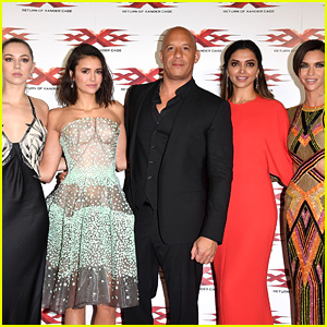 Vin Diesel Joins Ruby Rose, Deepika Padukone & 'xXx' Cast at London Premiere!