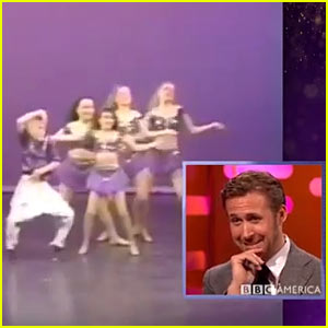 VIDEO: Watch Ryan Gosling React to His Childhood Dance Videos