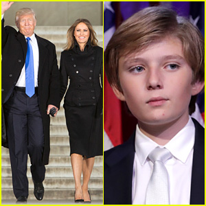Where Is Barron Trump? Future 'First Son' Absent from Pre-Inauguration Events
