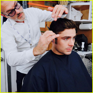 Zac Efron Gets Sideburns For 'The Greatest Showman' Filming