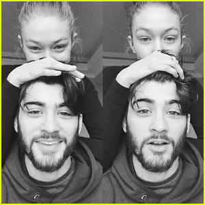 Zayn Malik & Gigi Hadid Cuddle Up in New Selfie!