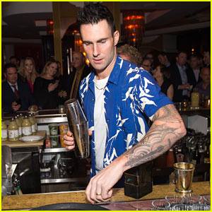 Adam Levine Launches His First Line of Tequila!