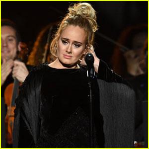 Adele Grammys 2017 - Celebs React to Stopping Performance