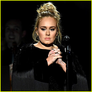 Adele Stops George Michael Grammys Tribute, Asks to Start Again (Video)
