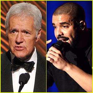 Jeopardy's Alex Trebek Raps Drake & Kanye West Lyrics - Watch Now!