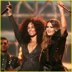 Maren Morris & Alicia Keys Perform 'Once' at the Grammys 2017 - Watch Here!