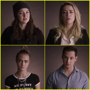 Amber Heard, Cara Delevingne & Shailene Woodley Think Donald Trump Has an Alternate Constitution! (Video)