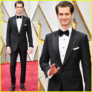 Andrew Garfield Brought His Parents as His Dates to Oscars 2017