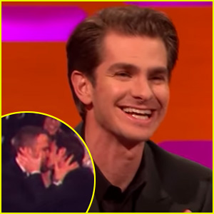 Andrew Garfield Says Ryan Reynolds Kiss Was His Idea! (Video)