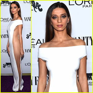 Westworld's Angela Sarafyan Has Major Fashion Moment with Her Sheer Dress!