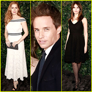BAFTA 2017 Pre-Party Brings Out Amy Adams, Eddie Redmayne, Felicity Jones, & More!