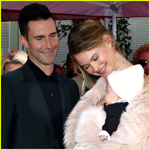 Behati Prinsloo Writes Super Sweet Message for Adam Levine After Walk of Fame Ceremony!