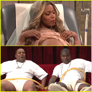 'Saturday Night Live' Spoofs Beyonce's Twin Babies - Watch!