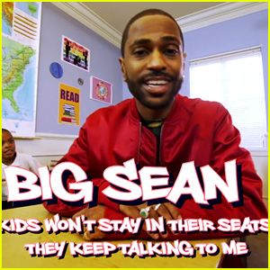 Big Sean Films Cute 'Read It' Rap Video with Students for 'Ellen'