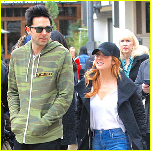 Brittany Snow Steps Out For Some Shopping With Guy Pal