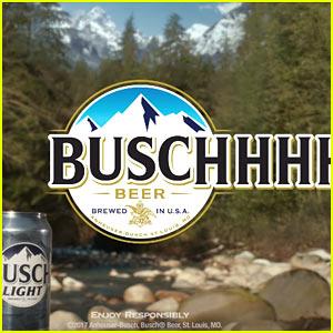 busch main pic busch beer super bowl commercial 2017 'crisp, cold buschhhhh taste