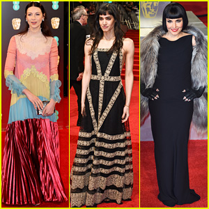 Caitriona Balfe, Sofia Boutella, & Noomi Rapace Glam Up for the BAFTAs 2017!