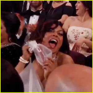 Jimmy Kimmel Sends Candy into the Oscars Crowd - Watch Now!