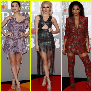 Charli XCX, Pixie Lott & Nicole Scherzinger Get Fashionable at Brit Awards 2017