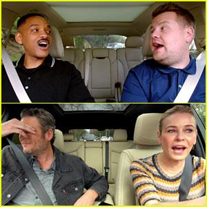 'Carpool Karaoke' Promo Debuts & Features Tons of Celebs - Watch Now!