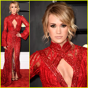Carrie Underwood Is Red Hot for Grammys 2017 Red Carpet!