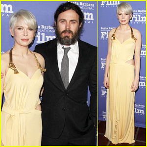 Casey Affleck & Michelle Williams Get Honored at Santa Barbara Film Fest!