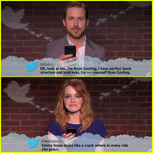 Celebs Read Mean Tweets During the Oscars - Watch Now!