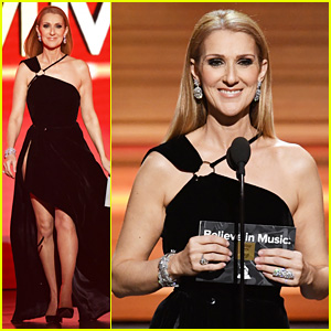 Celine Dion Recalls Winning Grammy for 'My Heart Will Go On' While Presenting in 2017!