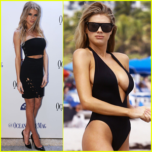 Charlotte McKinney Celebrates 'Ocean Drive' Cover With Oceanside Vacay